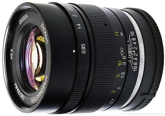 Zhongyi Optics Releases Improved Speedmaster 35mm f/0.95 for EOS M
