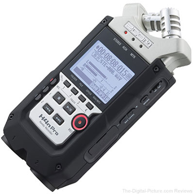 Zoom H4n Pro 4-Channel Handy Recorder In Stock at B&H