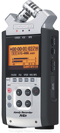 Zoom H4nSP 4-Channel Handy Recorder - $159.99 with Free Shipping (Reg. $199.99)