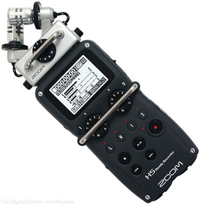 Zoom H5 Handy Recorder Now Available at B&H