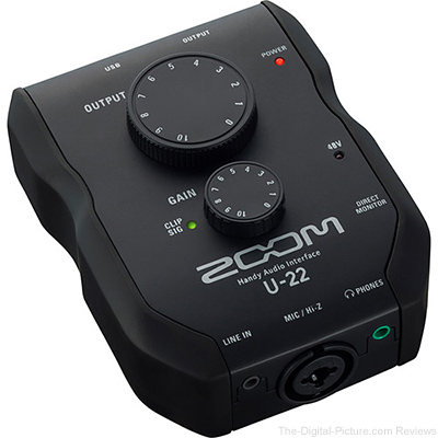 Zoom U-22 - USB Mobile Recording and Performance Interface - $69.99 Shipped (Reg. $99.99)