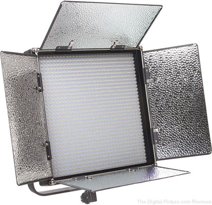 ikan IFD1024 Featherweight Daylight LED Flood Fixture with AB and V-Mount Plates - $399.00 Shipped (Reg. $999.00)