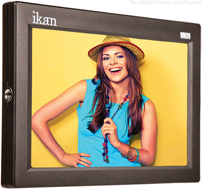 "ikan VH7i-E6 7"" HDMI LCD Monitor with Canon LP-E6 Type Battery Plate - $259.95 Shipped (Reg. $399.95)"