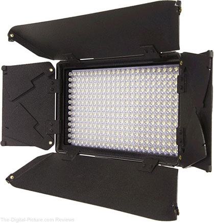 ikan iLED312-v2 On-Camera Bi-Color LED Light with Digital Display - $179.95 Shipped (Reg. $349.95)