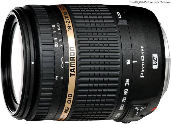 Tamron 18-270mm f/3.5-6.3 Di II VC PZD Lens