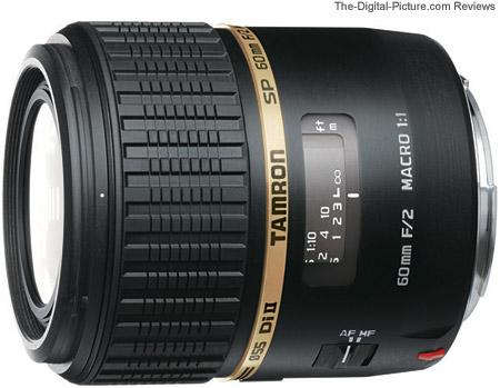 Tamron SP 60mm f/2.0 Di II Macro Lens