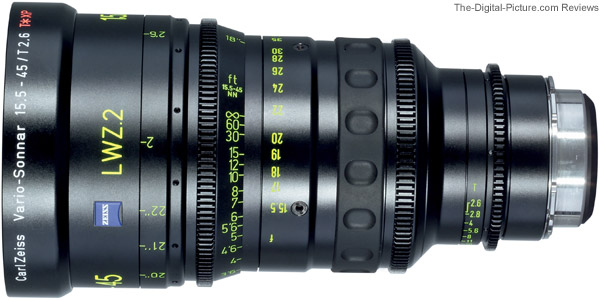 Carl Zeiss Lightweight Zoom LWZ.2 Lens