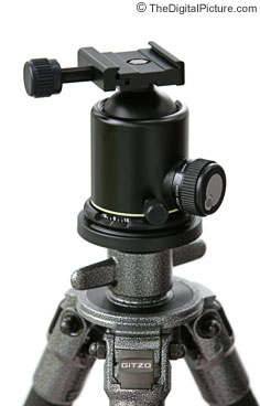 Arca-Swiss B1 Ball Head Mounted on a Gitzo G1327 Tripod