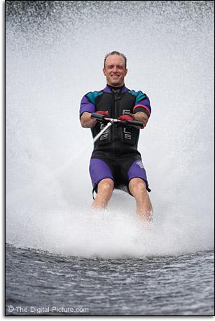 Bryan Carnathan Barefoot Waterskiing