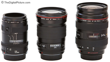 Canon 135mm Lens Comparison