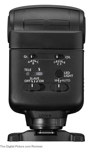 Canon Speedlite 320EX Flash Angles