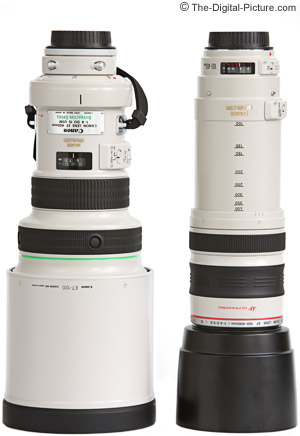 Canon 400mm DO Lens Comparison With 100-400 IS Lens