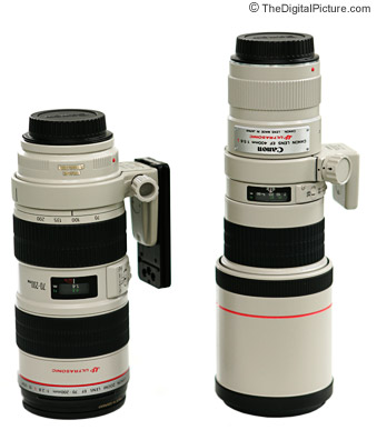 Canon 400mm Lens Comparison Picture