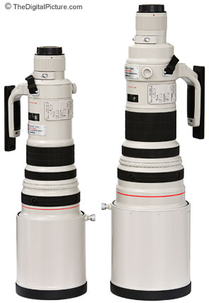 Canon 500mm and 600mm L IS Super Telephoto Lens Comparison