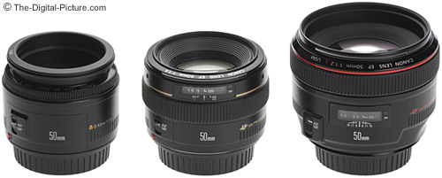 Canon 50mm Lens Size Comparison