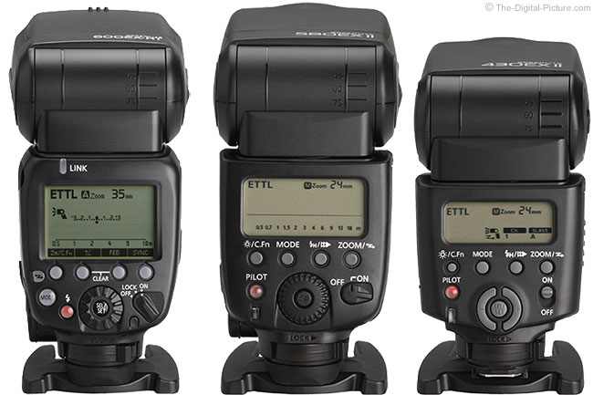 600EX-RT Flash Comparison - Rear