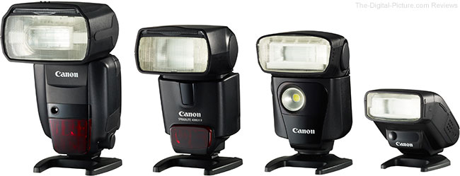 Canon 600EX-RT Speedlite Family