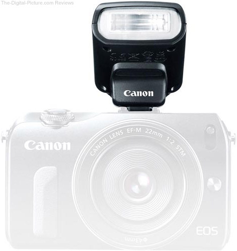 Canon Speedlite 90EX Flash on Canon EOS M Camera