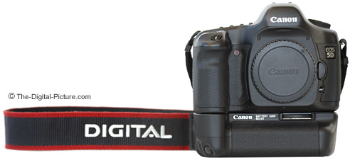Canon EOS 5D Digital SLR Camera and BG-E4 Battery Grip
