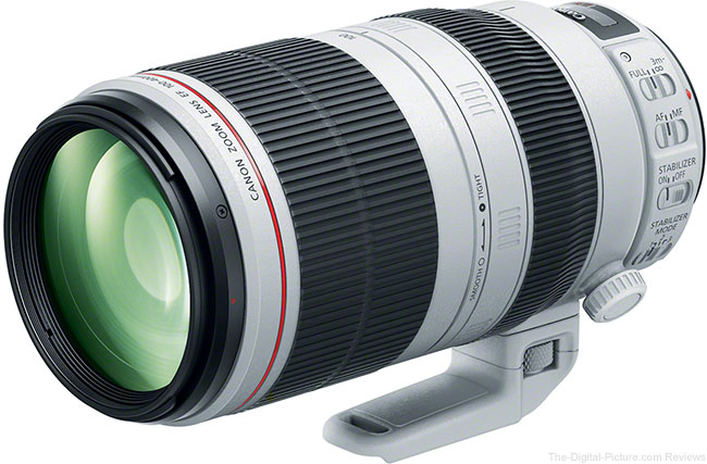 Getting the Canon EF 100-400mm f/4.5-5.6L IS II USM Lens Review Started