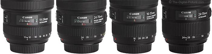 Canon Lens Barrels