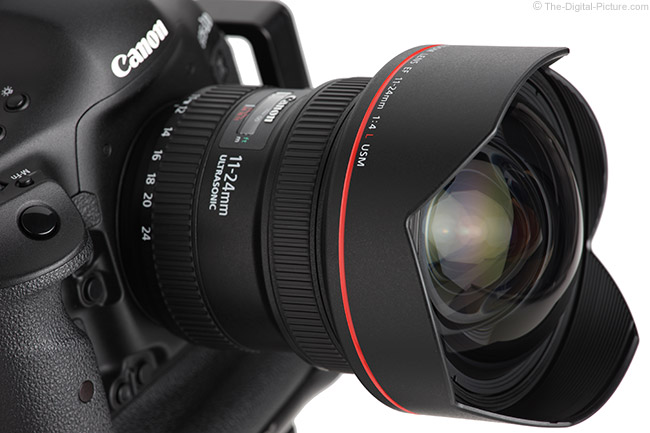 First Looks at Canon EF 11-24mm f/4L USM Lens