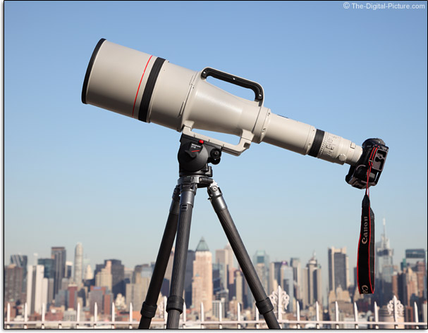 Canon EF 1200mm f/5.6 L USM Lens Mounted on EOS 1Ds Mark III