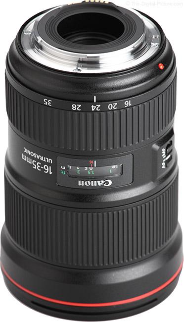 Canon EF 16-35mm f/2.8L III USM Lens Mount