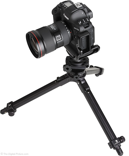 Canon EF 16-35mm f/2.8L III USM Lens on Tripod
