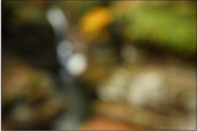 Canon EF 16-35mm f/2.8L III USM Lens Maximum Blur Example