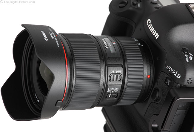 Just Posted: Canon EF 16-35mm f/4L IS USM Lens review