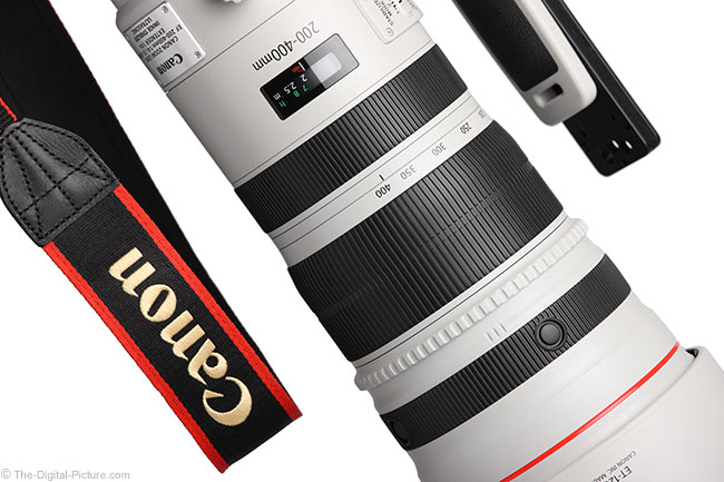 Canon EF 200-400mm f/4 L IS USM Ext 1.4x Lens Creative Angle