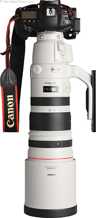 Canon EF 200-400mm f/4 L IS USM Ext 1.4x Lens with Hood