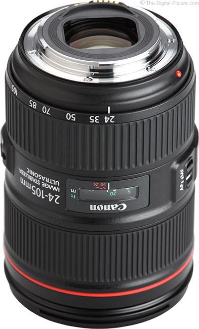 Canon EF 24-105mm f/4L IS II USM Lens Mount