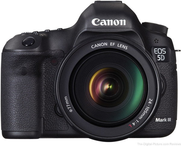 Canon EOS 5D Mark III Firmware Version 1.3.3 Released