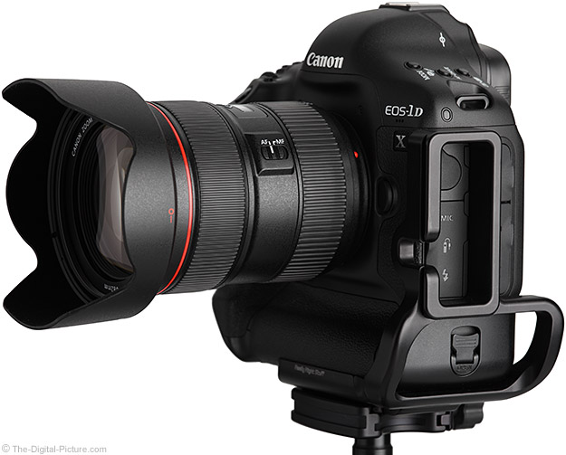 24-70 L II on 1D X DSLR - Side View