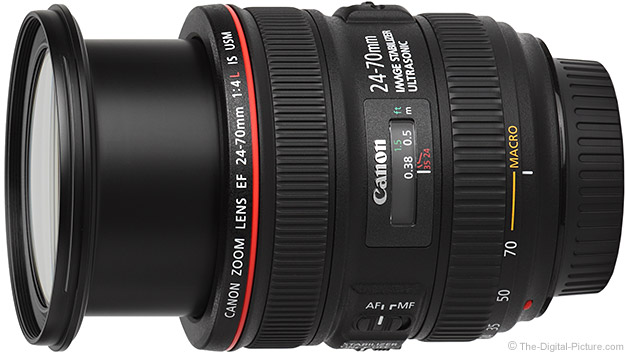 Canon EF 24-70mm f/4L IS USM Lens Macro Mode