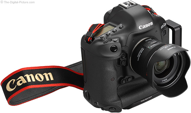 Canon EF 28mm IS Lens on Canon EOS-1D X