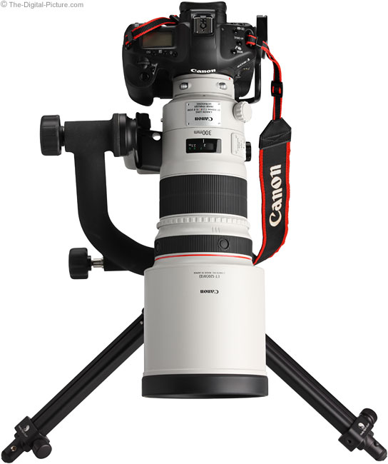 300 f/2.8 IS II Front View 3