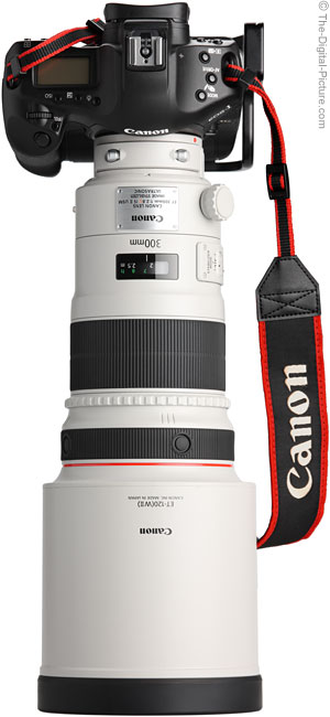 300mm IS II Front View