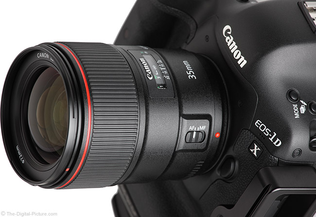 Canon EF 35mm f/1.4L II USM Lens Tested on EOS 1Ds III and 7D Mark II