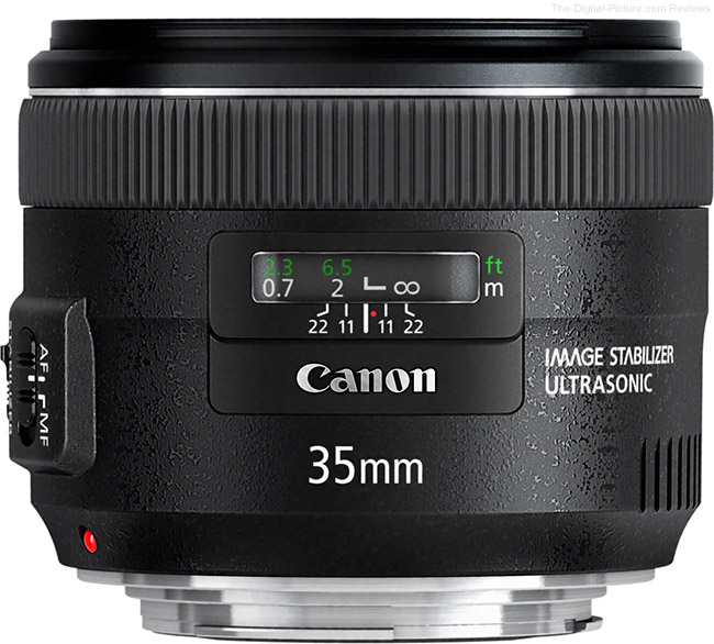 Canon EF 35mm f/2 IS USM Lens