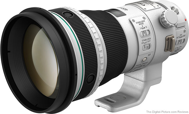 First Looks at Canon EF 400mm f/4 DO IS II USM Lens Image Quality