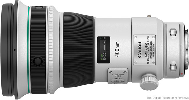 Canon EF 400mm f/4 DO IS II USM Lens Tested on 7D Mark II