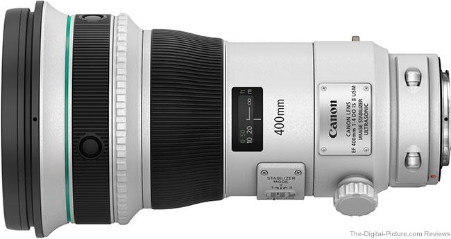 Canon EF 400mm f/4 DO IS II USM Lens Tested on 7D Mark II