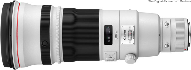 Canon EF 500mm f/4L IS II USM (Open Box) - $7,999.99 Shipped (Compare at $8,999.00)