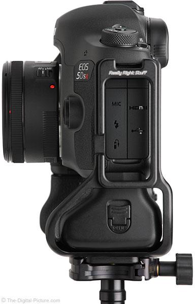 Canon EF 50mm f/1.8 STM Lens Side