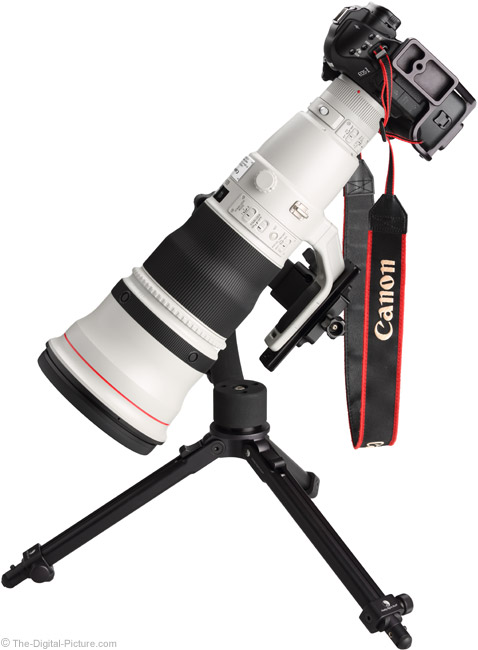 600 f/4L IS II Angled Side View Without Hood