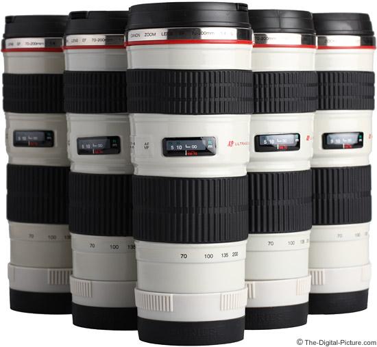 Canon EF 70-200mm f/4.0 L USM Lens Mugs