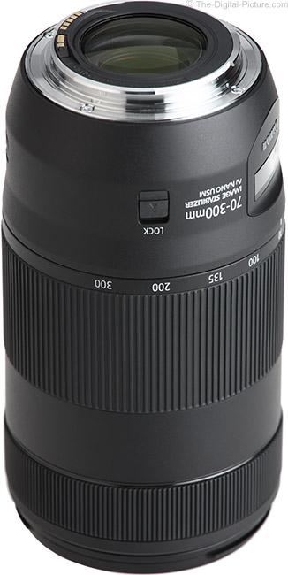 Canon EF 70-300mm f/4-5.6 IS II USM Lens Mount